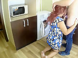 Son fucked stepmom in anal, doggy style. Mom and son sex