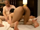 Erotic Asian milf giving hot blowjob for a pussy lick