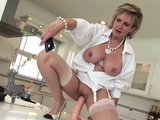 Unfaithful british mature lady sonia flaunts her enor36IHM