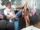 Deutscher Onkel steht auf seine Blonde Nichte