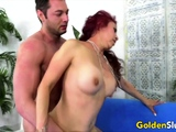 Golden Slut - Mature Bent Over Comp 1