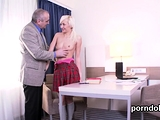 Pretty college girl gets seduced and plowed by senior33dUo