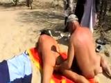 Girl fingered by stranger at the beach