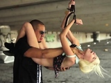 Rough dick slapping Helpless teenager Piper Perri was on