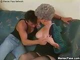 Granny Trains Grand Daughters Boy Friend