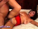 Mature Stepmom Having Sex With Her Stepson