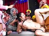 FORBONDAGE - BDSM Group Fun Sex With Hot MILF Pamela Sanchez