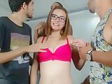Redhead German Teen Gangbang Part 07