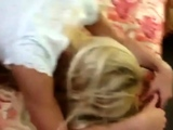 Blonde In Stockings Doggystyle Fucked Fucking