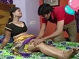 Hot aunty romance with servent