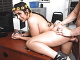 Teen Trespassing Caught And Fucked Hard