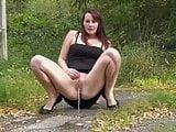 Roadside piss