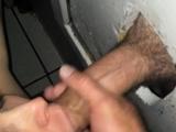 Facialized blowjob amateur glory hole