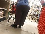 Huge BBW Granny ass!