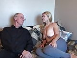 GRANDPA WITH UNREAL BIG DICK ABUSES TEEN WITH BIG SAGGY TITS