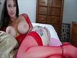 Beautiful classy cougar with big tits is fucked by some guy