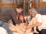 Daddy fucks companion chums daughter rough Unexpected