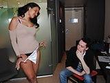 Antillaise aux gros seins baise avec un photographe