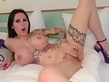 Big Tits Teen Xania Wet German Dirty Talk Masturbation