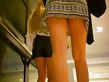 Teens In Skirt So Short They Upskirt Themselves