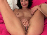 European gilf Danina gives her yearning pussy what it needs