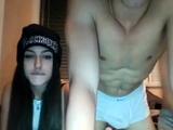 Amateur teen girlfriend webcam action