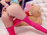 Amateur Cute Teen Butt Plug In Ass And Fun With Dildo -DM