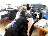 leatherslut Biggi blowjob