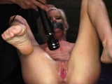 Extreme anal fisting milf and man slave gets fucked first