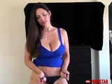 PORNSTARPLATINUM Hot Stepmom Teases By Changing Panties POV