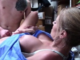 Real lady cop rides cock