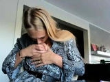 Tight blonde teen angel loves doggystyle