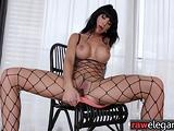Euro cougar POV buttfucked in interracial duo