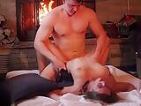 Hot Couple Fucks At Cabin Next Door
