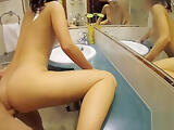 AMATEUR mirror fuck with young MOM