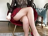 Teen in short college skirt likes hard anal destroying