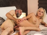 Fake taxi old woman Surprise your girlpatron and she will