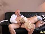 Teen babe big tits hardcore Horny ash-blonde wants to try