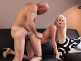 Teen spanks herself and perfect russian anal first time