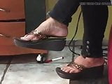 WEDGE SANDALS AT VALLEY CUTS
