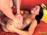 Divine russian chick Amy enjoys deep penetration