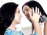 Pretty Sexy MILF enjoys freshness of a Young Maid by NazBaz