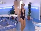 Anna Walker sexy in bikini in jacuzzi