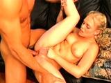 Titted Blonde hottie shagged hardcore doggystyle
