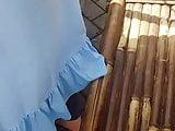 abg jilbab biru
