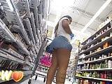 Phat ass in short shorts