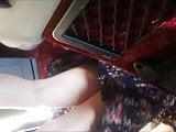 Turkish Teen Upskirt in Bus